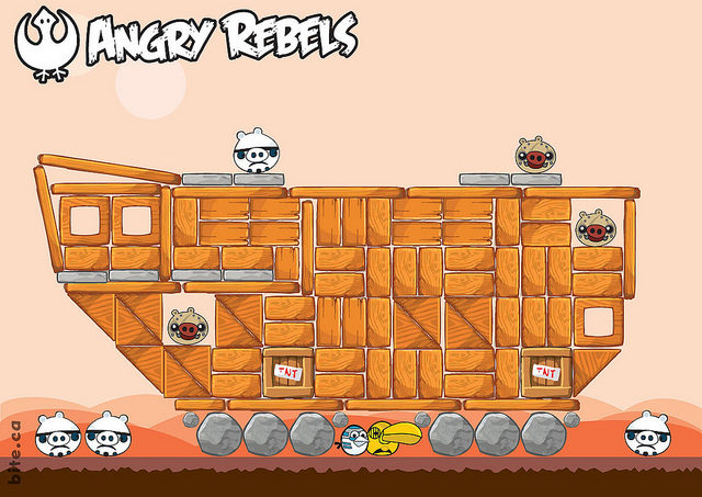 S angry birds star wars angry rebels the geek twins - Angry birds star wars 7 ...