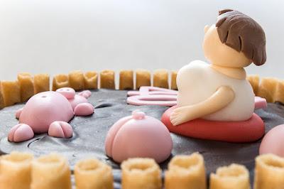 Pujsi v blatu - Pigs in the mud cake