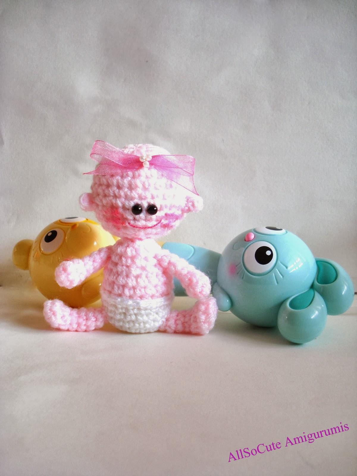 Crochet Amigurumi For Baby : Allsocute amigurumis amigurumi baby crochet