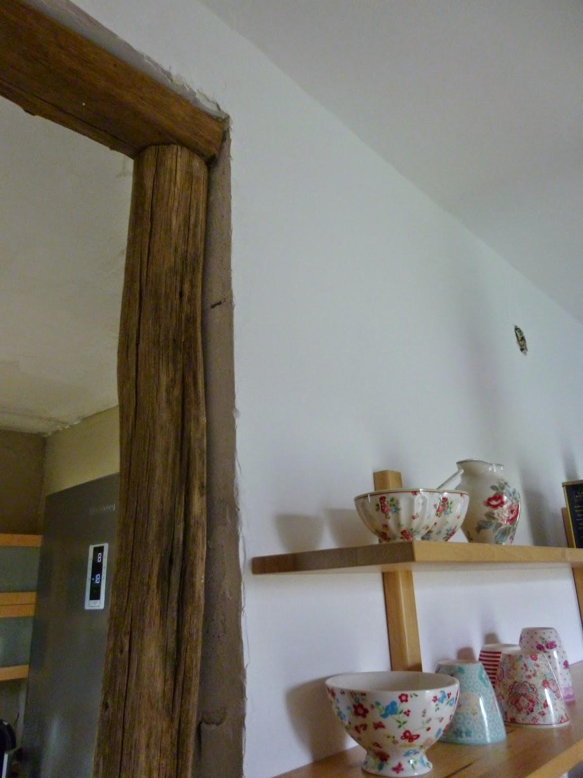Morgen Geht Es Hier Im Haus Weiter Und Wenn Wir Es Schaffen, Wird Ende  Nächster Woche Der Holzboden Verlegt. Wir Haben Alte Eichenbalken Bekommen,  ...