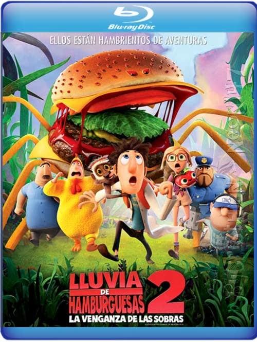 Lluvia de hamburguesas 2: La venganza de las sobras (Español Latino) (BRrip) (2013)