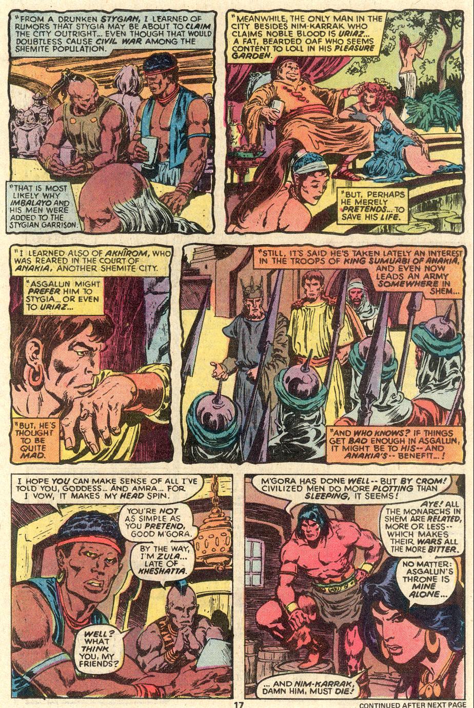 Conan the Barbarian (1970) Issue #91 #103 - English 12