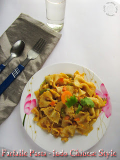 Farfalle-pasta-for-breakfast