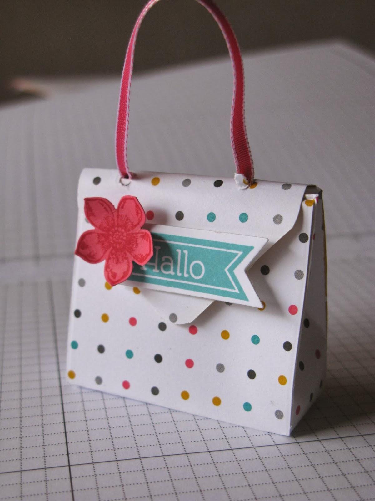 stampin mit scraproomboom kleine handtaschen mit envelope punch board. Black Bedroom Furniture Sets. Home Design Ideas