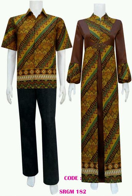 sarimbit gamis batik srgm 182 sarimbit gamis batik srgm 184