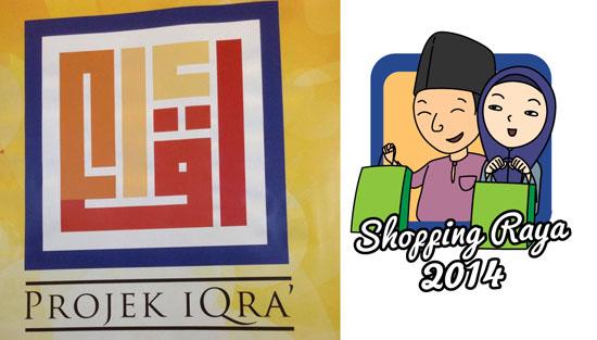 Shopping Raya 2014 - Program Kebajikan Projek Iqra'