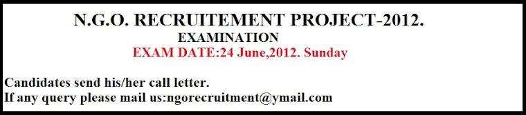 Examination notice