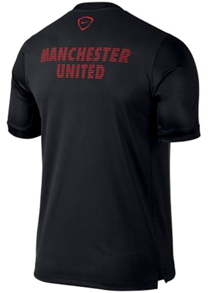 NIKE Manchester United Squad Short-Sleeve Pre-Match Shirt 2015