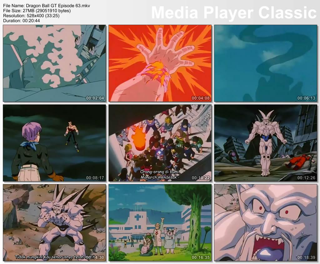 Pada Film / Anime Dragon Ball GT Episode 63 Bahasa Indonesia ini