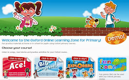 This is the new link to Primary Oxford Online Learning Zone