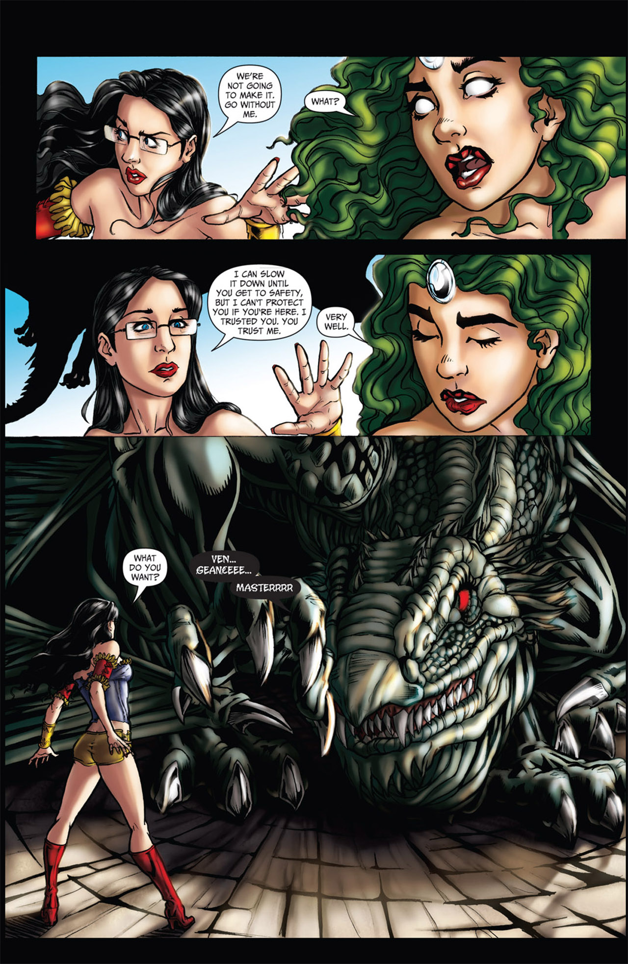 Grimm Fairy Tales (2005) Issue #61 #64 - English 12