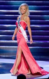 Brooke Werner in Miss USA competition