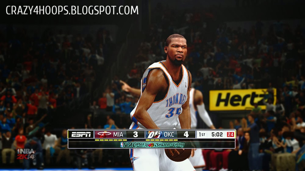 NBA 2k14 ESPN Scoreboard Patch