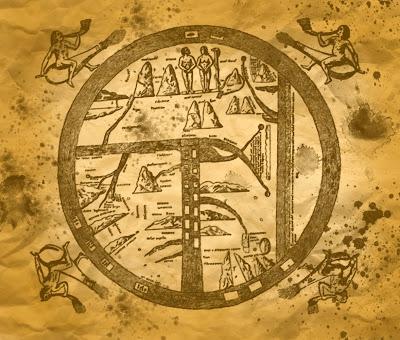 mapas antiguos fondo grunge