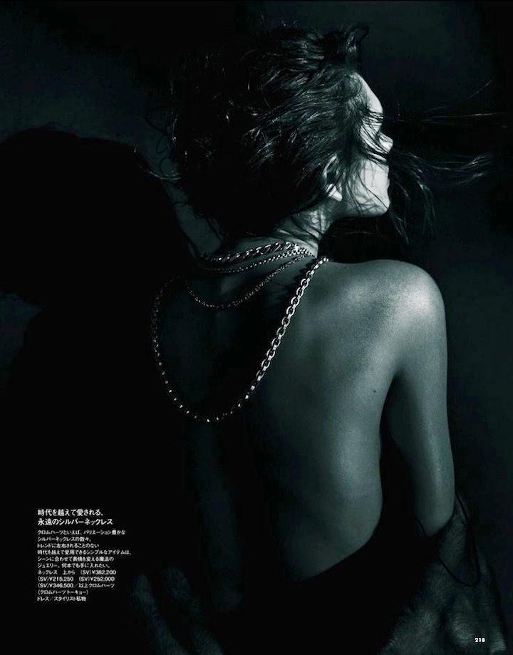 Kristina K By Toshio Onda For Elle Japan February 2014