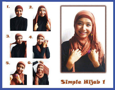 Cara Memakai Jilbab 3