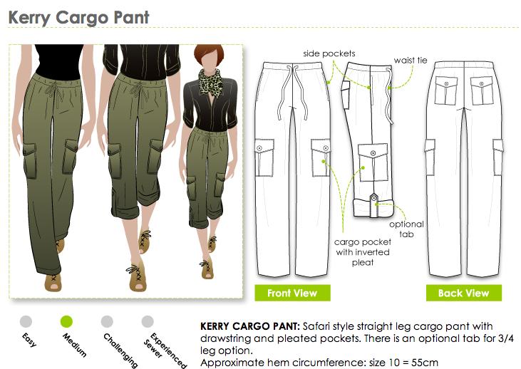 Womens Pocket Cargo Pants  ShopStyle