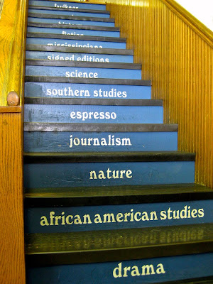 Stairs Inside Square Books, Oxford, Mississippi