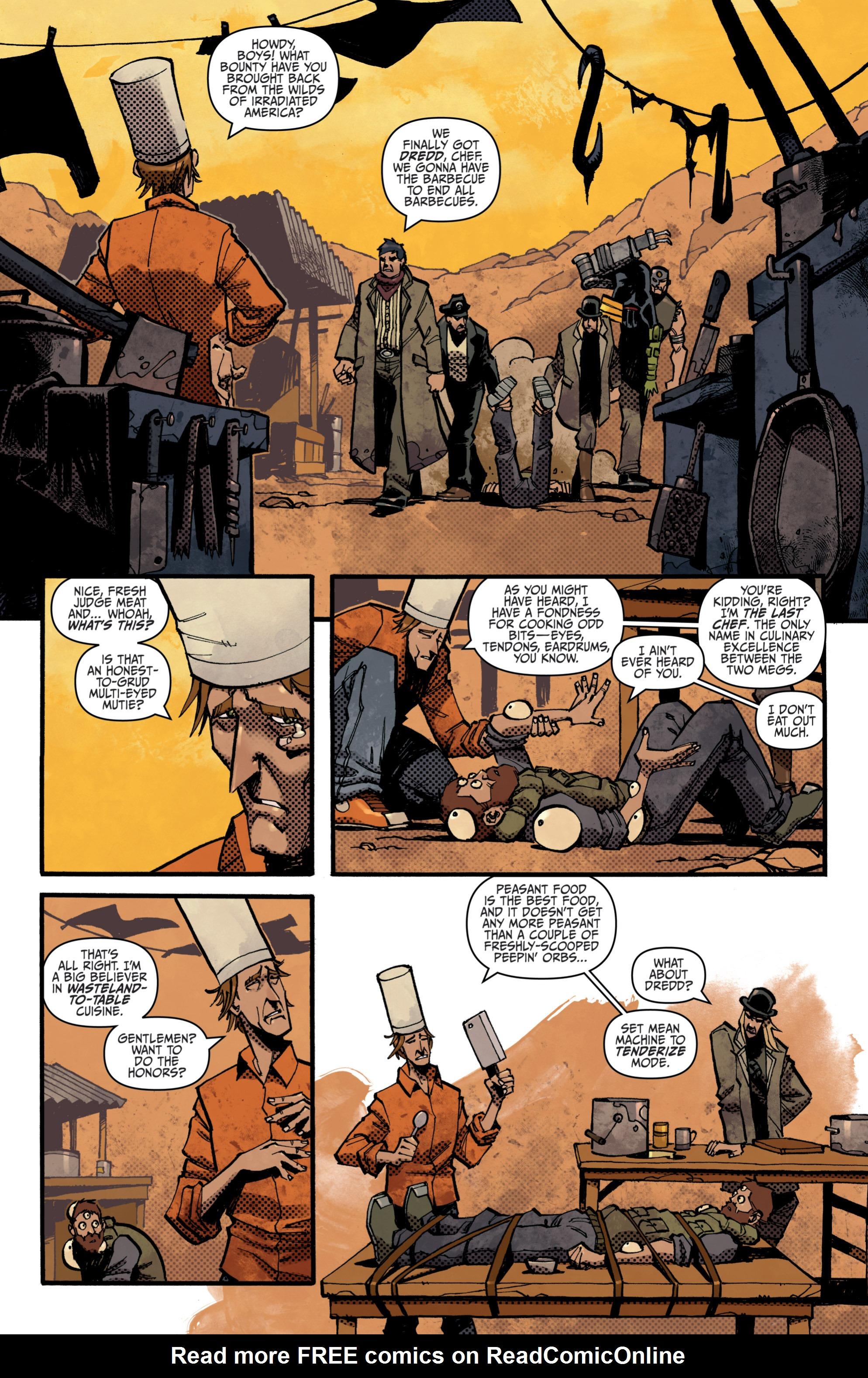 Read online Judge Dredd (2012) comic -  Issue # _TPB 3 - 55
