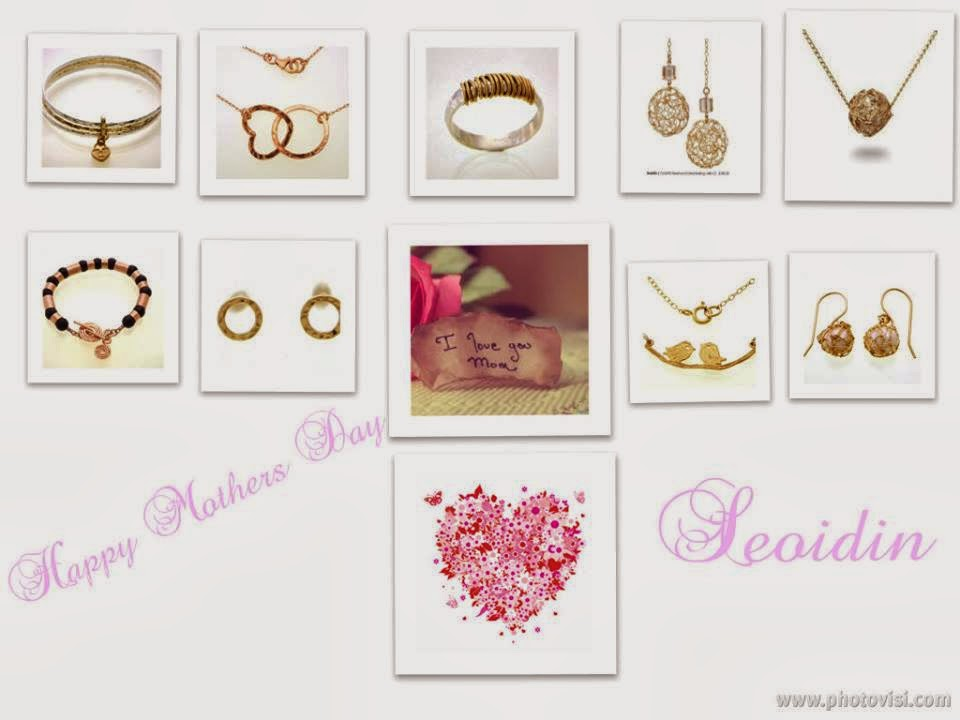 Seoidin Jewellery Mothers Day gift ideas