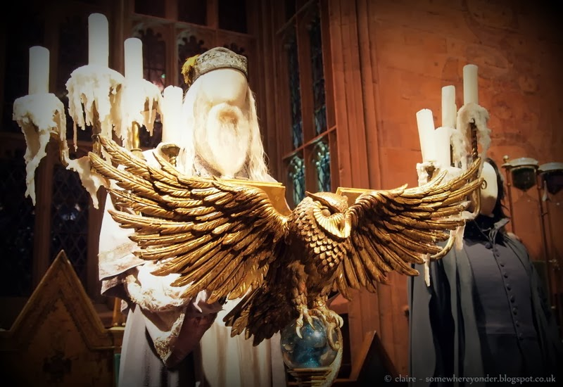 The Great Hall, and the Owl Lecturn - Harry Potter Warner Bros Studio Tour, Watford