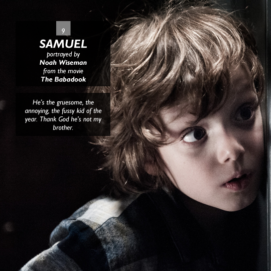 Samuel from The Babadook