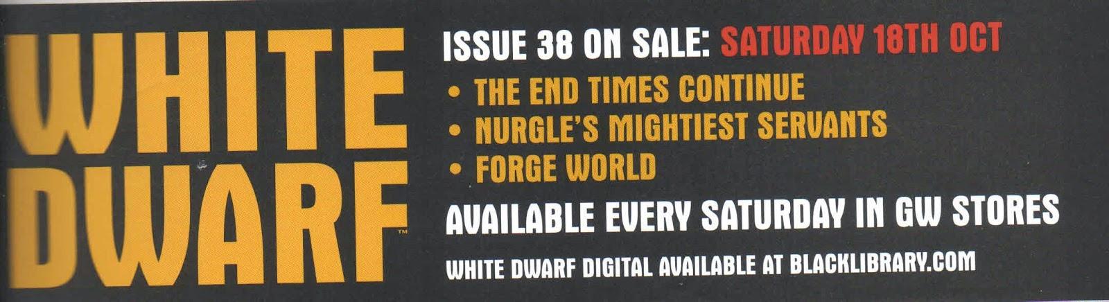 Adelanto de la White Dwarf Weekly 38