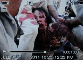Foto Jenazah Khadafi - Video Khadafi Tewas Mati Meninggal Dunia Tembak