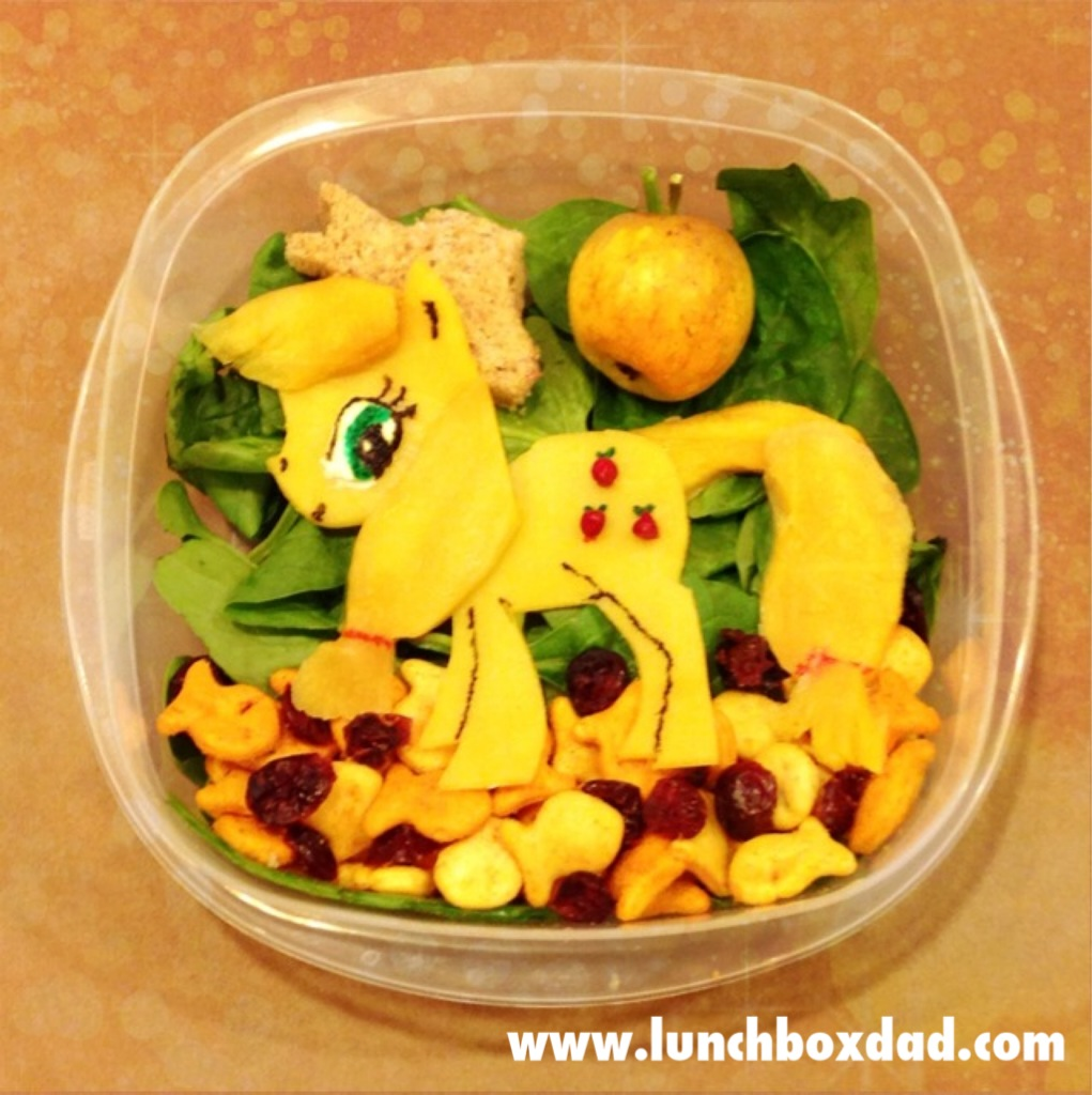 My Little Pony Bento Lunch