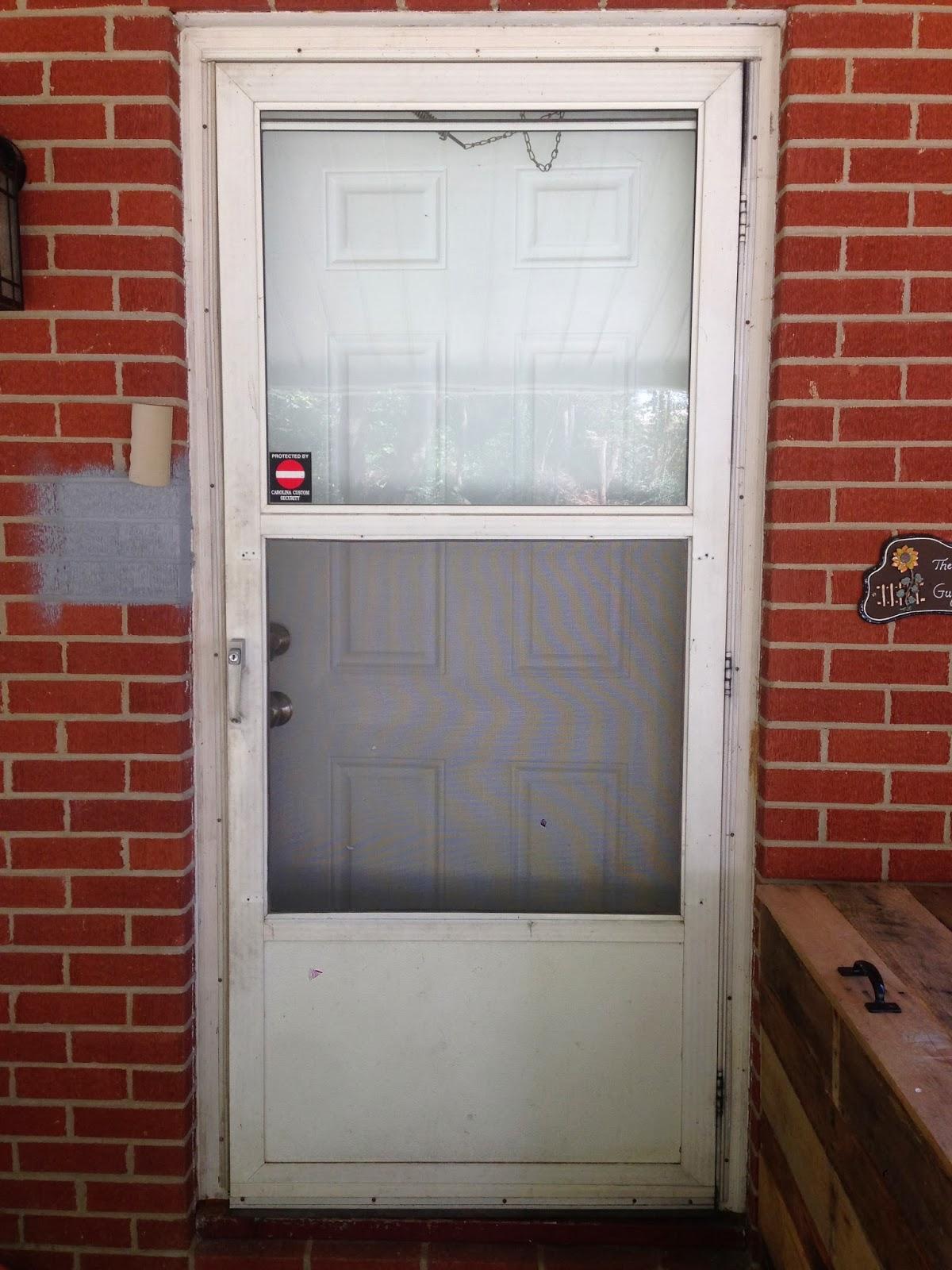 Chalk paint front door bird and a tree for Chalk paint door