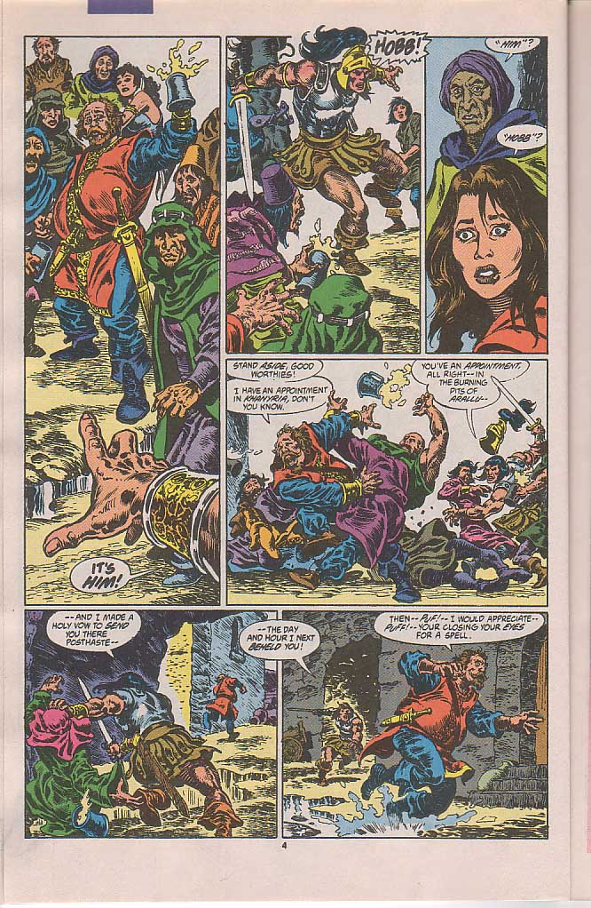Conan the Barbarian (1970) Issue #250 #262 - English 5