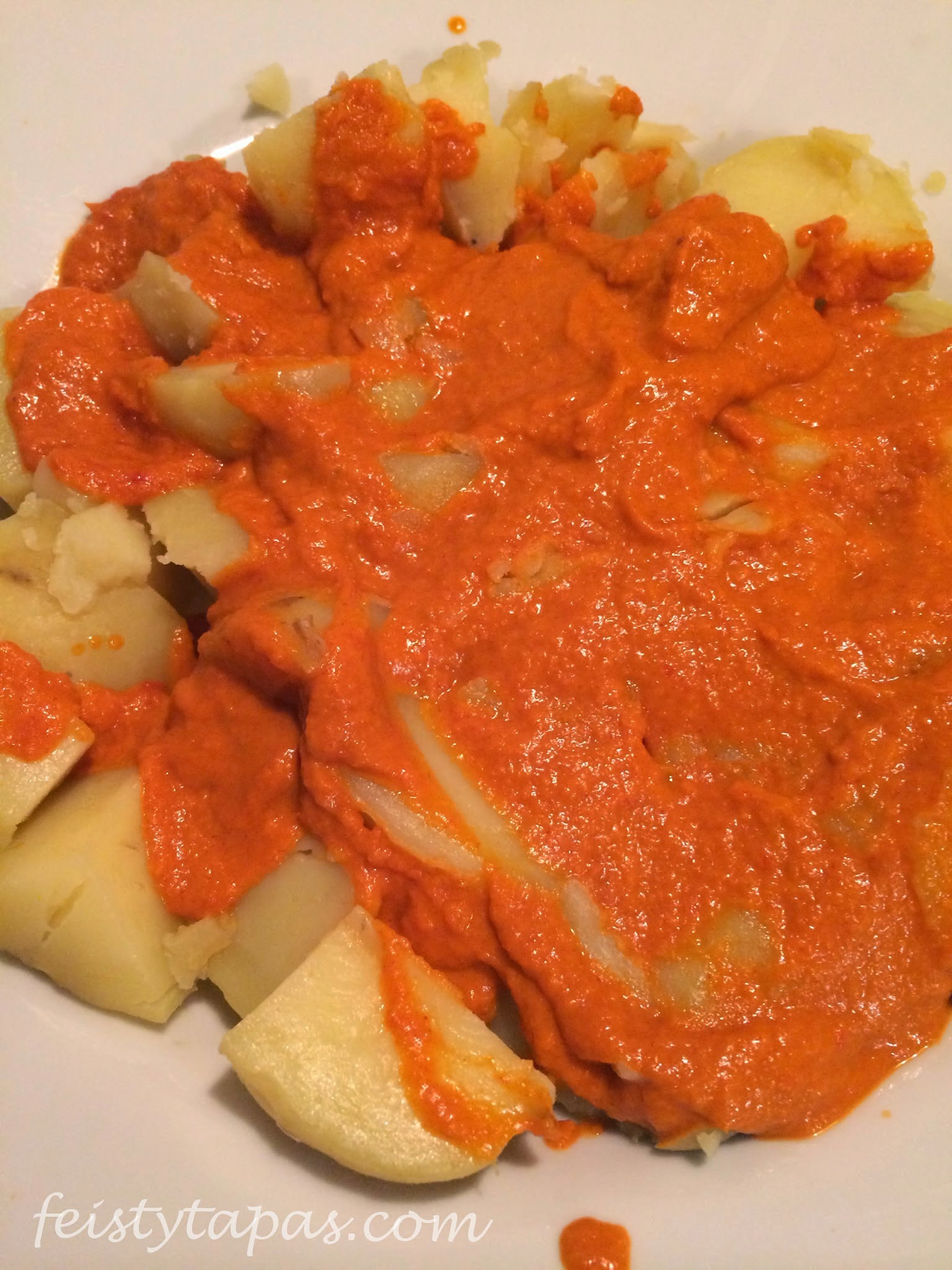 Patatas Bravas in the Thermomix or Bimby