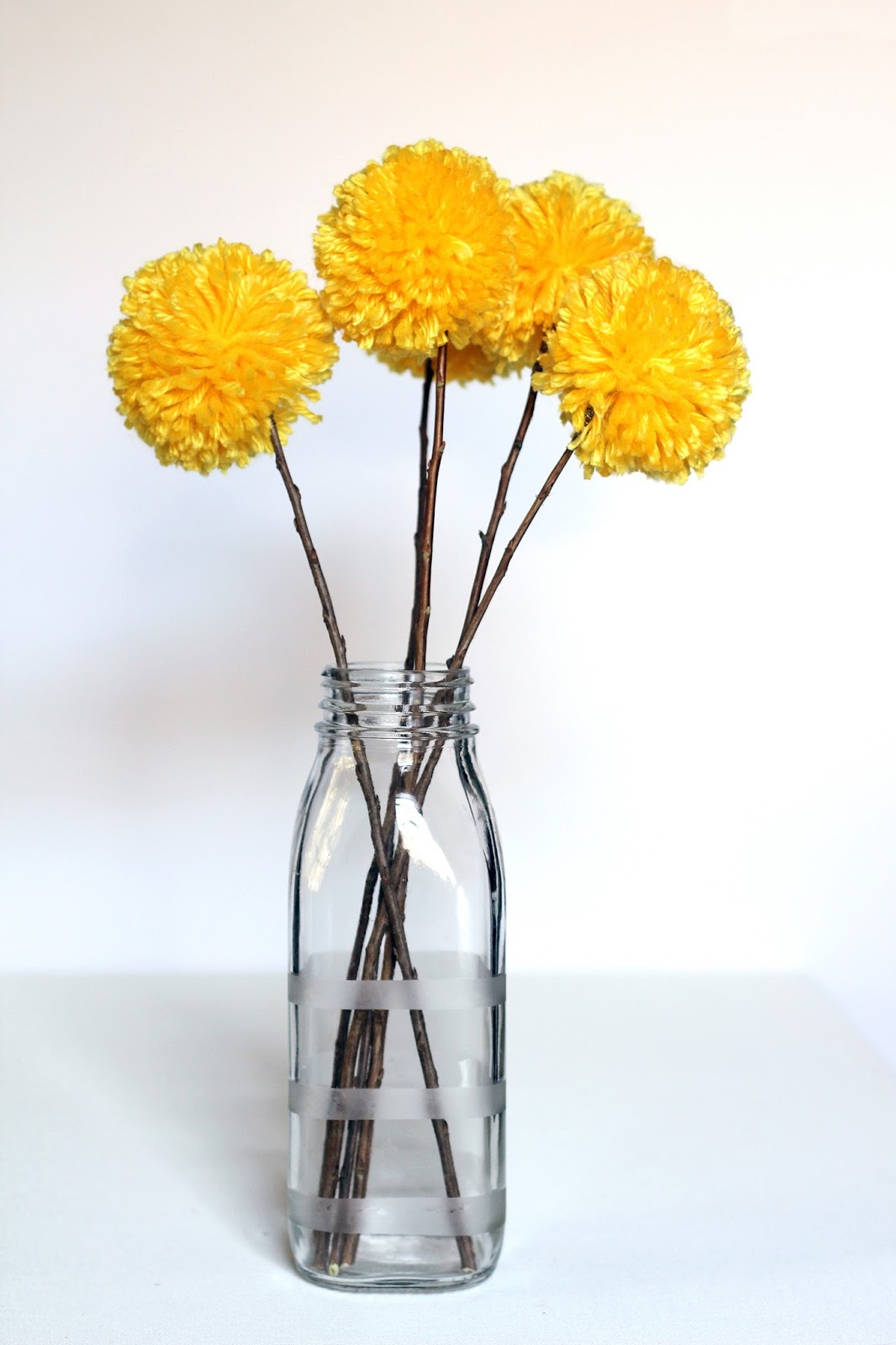 We Can Make Anything Pom Pom Flowers
