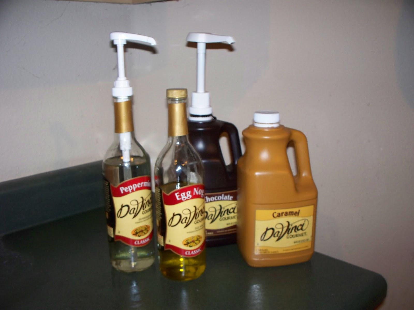davinci eggnog syrup