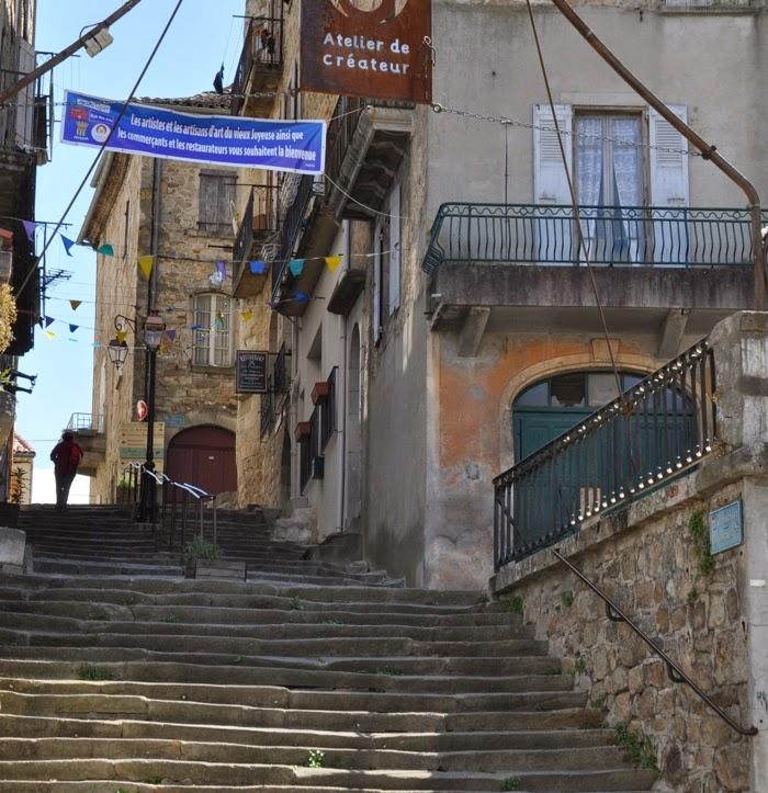 Escalier de joyeuse