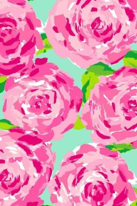 Lilly Pulitzer Pink Desktop Wallpaper