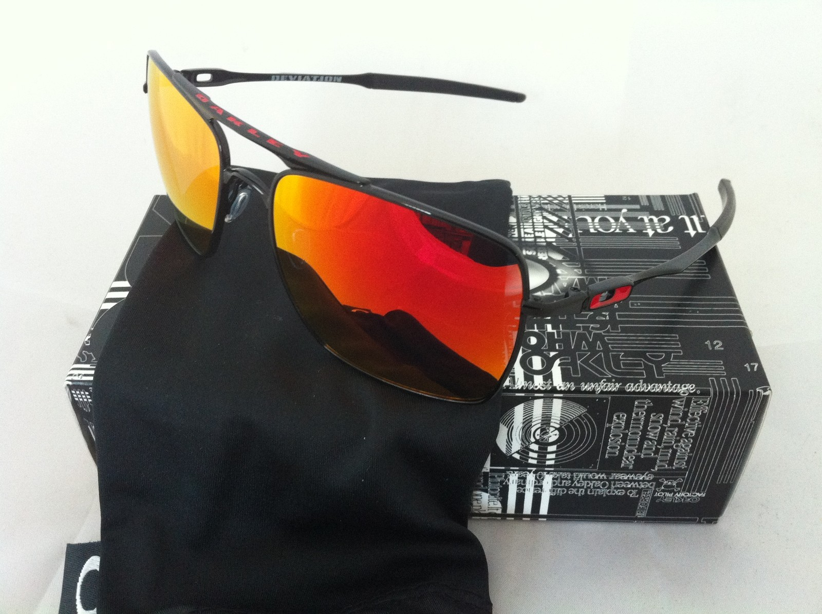 f00106cdc6 Oakley Probation Polished Chrome Black Iridium « Heritage Malta