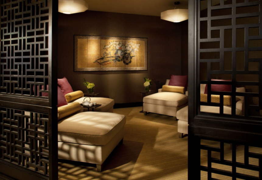 The hip urban girl 39 s guide mandarin oriental spa a for Salon oriental