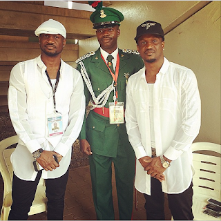 Psquare Share Photos From The Inauguration Today (Photos)