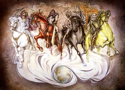 Four Horsemen, Antichrist, Quatro Cavaleiros do Apocalipse