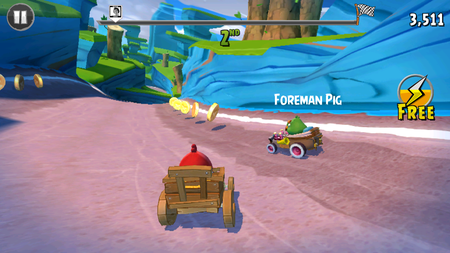 Angry Birds Go Para ve Elmas Hilesi Apk