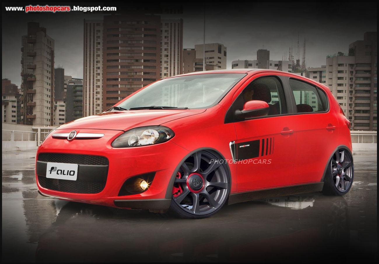 Novo Fiat Palio 2012 Tuning