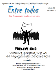 """REVISTA """"ENTRE TODOS""""... los trabajadores de comercio N° 3"""