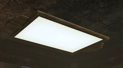 Squared Ceiling Flush Light