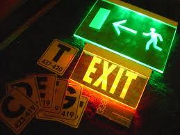 La importancia de las vías de evacuación.