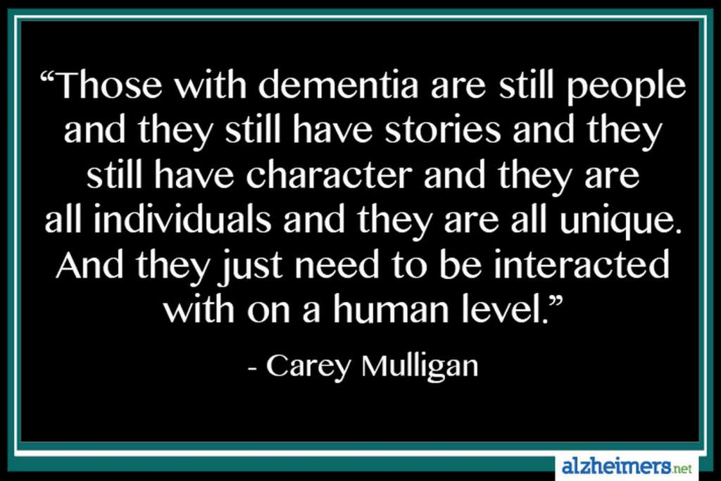 The Sandwich Generatio... Carey Mulligan Dementia