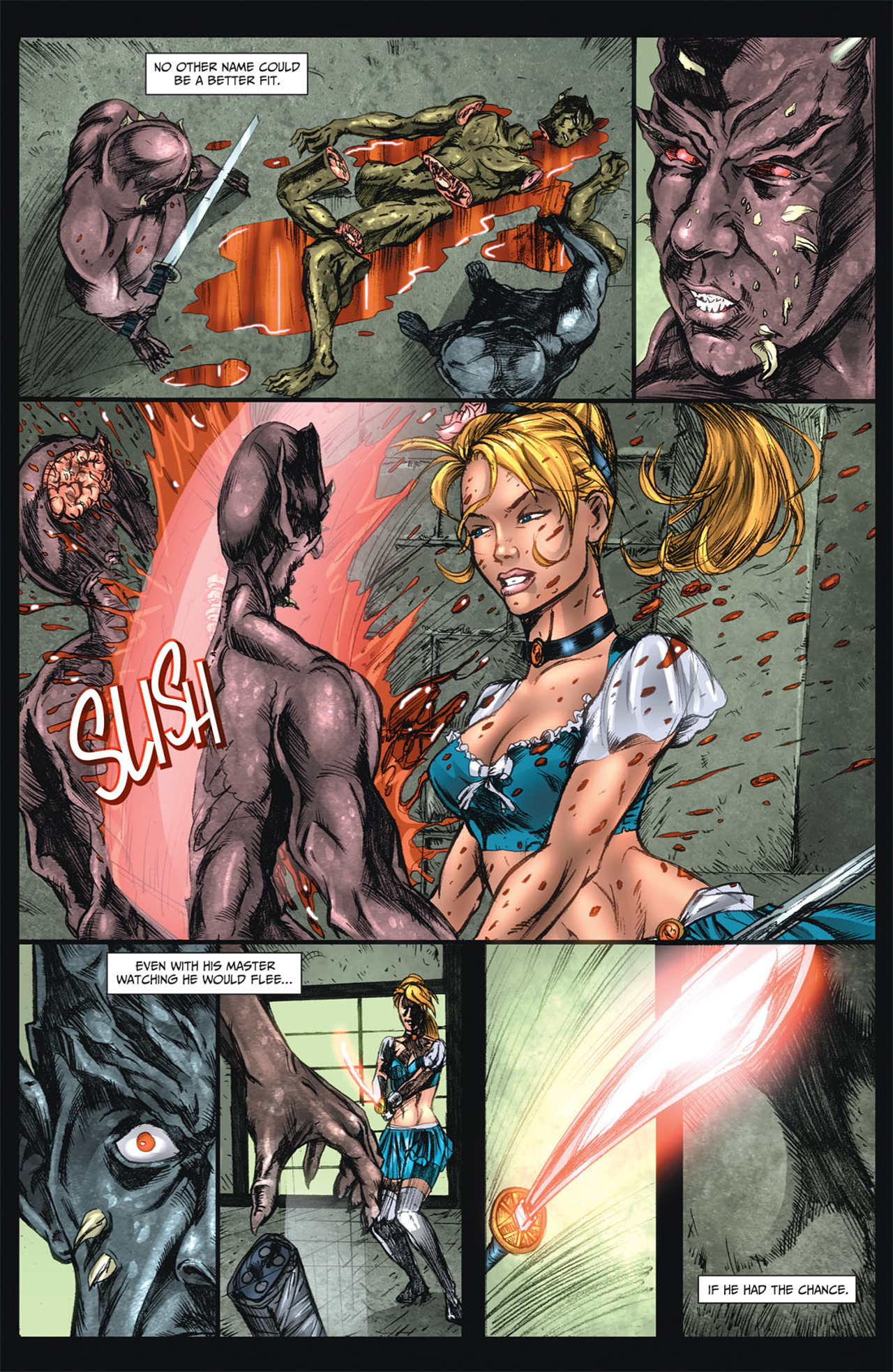 Grimm Fairy Tales (2005) Issue #47 #50 - English 6