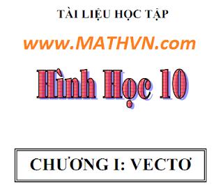 bai tap vecto chuong 1 hinh hoc 10 nang cao co ban