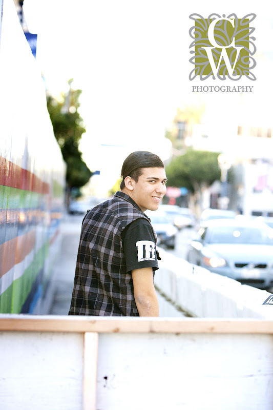 senior portrait downtown long beach
