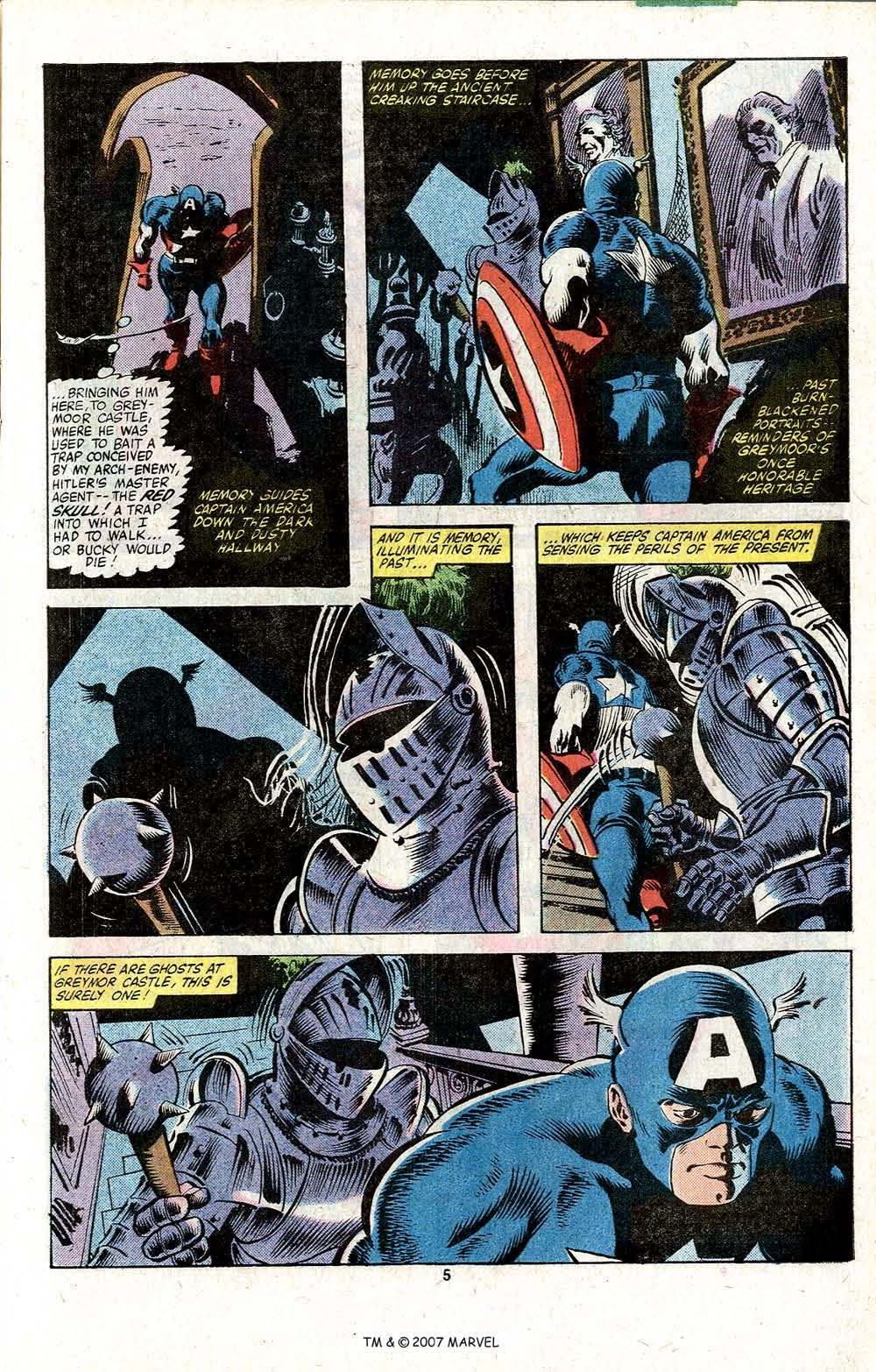 Captain America (1968) Issue #256 #171 - English 7